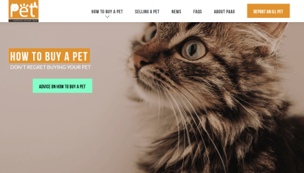 New website launched to help British public buy a healthy pet