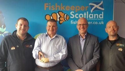 MSP visits Scottish aquatics store