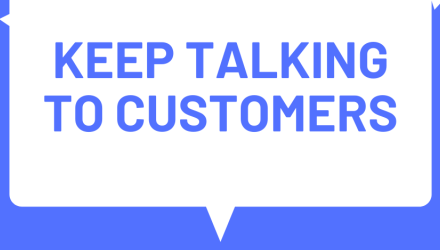 Time to remind customers you're there to help
